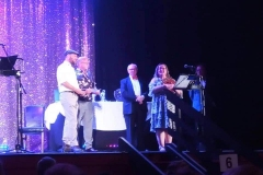 Accepting one of many set awards (NETG 2019)